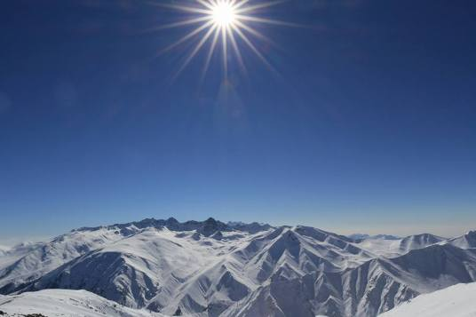 Pulverschnee fahren im Himalaya