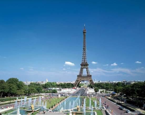 Frankreich Reise