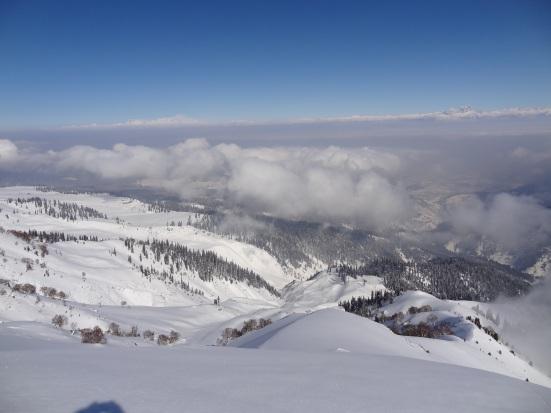 Himalaya Pulverschnee Skifahren